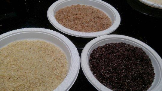Beras hasil giling dengan Re-Rice (Dok:penulis)